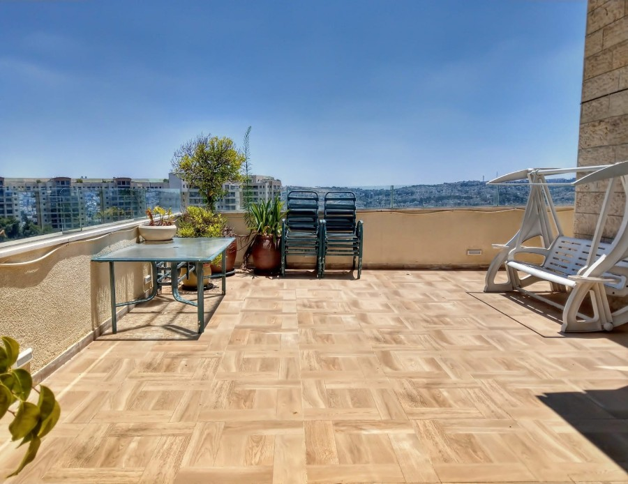 "Penthouse 5 Rooms For Sale inRamat Sharret inJerusalem-שיר""ן"